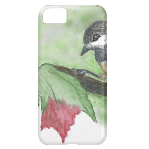 First frost for Chick-a-Dee iPhone 5C Case