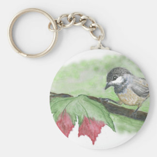First frost for Chick-a-Dee Keychains