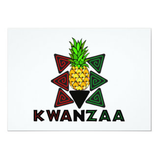 First Fruit Kwanzaa Holiday Party Invitations