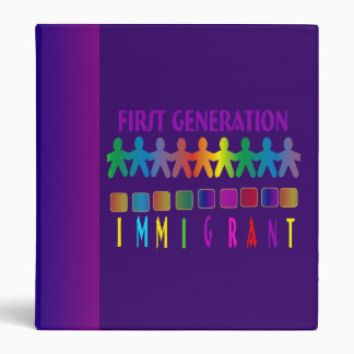 First Generation Immigrant Binder