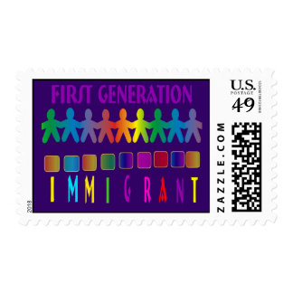 First Generation Immigrant Postage