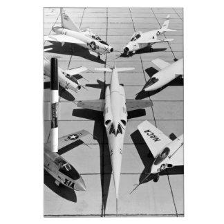 First Generation U.S. Experimental Aircraft Dry Erase Board