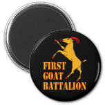 First Goat Battalion Fridge Magnets