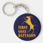 First Goat Battalion Keychains