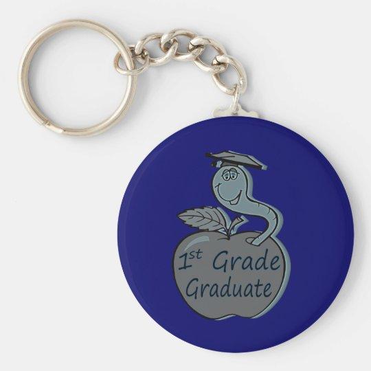 first.grade.graduate.apple keychain