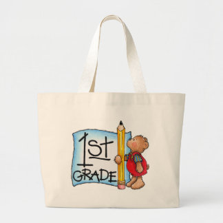 First Grade Large Tote Bag