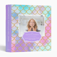 First Grade | Mermaid Homeschool Portfolio Binder
