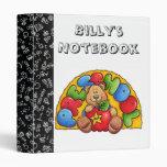 First Grade Notebook 3 Ring Binder
