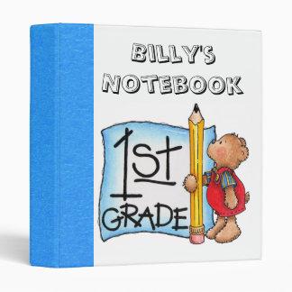 First Grade Notebook Binder