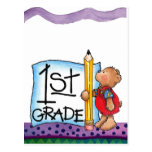 First Grade Postcard
