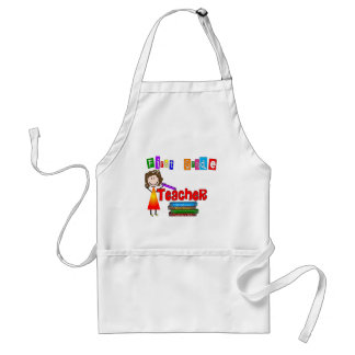 First Grade Teacher Gifts Adult Apron