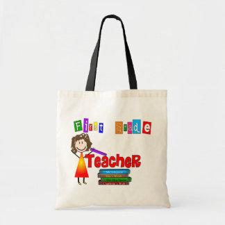 First Grade Teacher Gifts Budget Tote Bag
