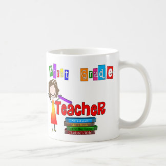 First Grade Teacher Gifts Coffee Mug