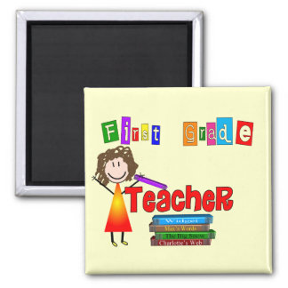 First Grade Teacher Gifts Magnet