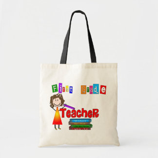 First Grade Teacher Gifts Tote Bag