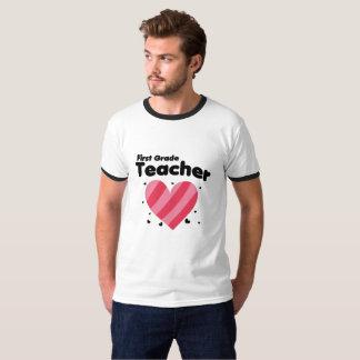 First Grade Teacher love students Funnys T-Shirt