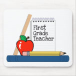 First Grade Teacher (Notebook) Mousepads