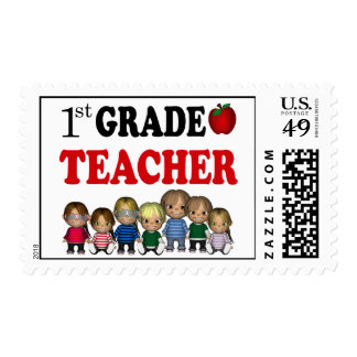 First Grade Teacher Postage