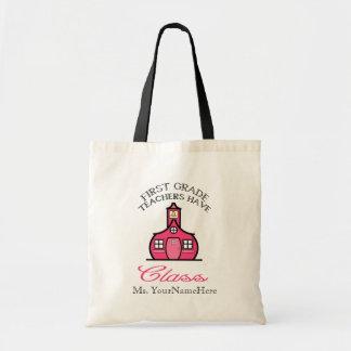 First Grade Teachers Have Class Bag