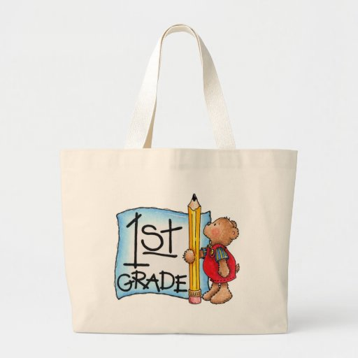 First Grade Tote Bags
