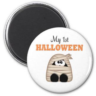 First  Halloween 2 Inch Round Magnet