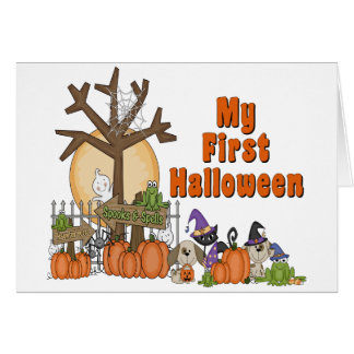First Halloween Cute & Spooky Card