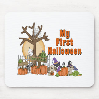 First Halloween Cute & Spooky Mouse Pad
