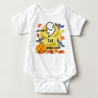 First Halloween Ghost Infant Creeper