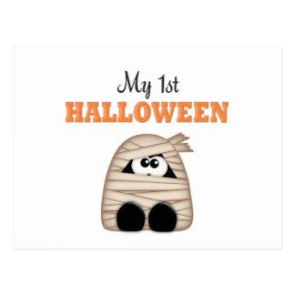 First  Halloween Postcard