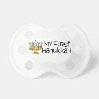 First Hanukkah Baby Pacifier