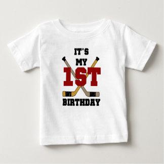 First Hockey Birthday Shirt
