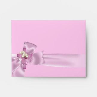 First Holy Communion 1st Cross Girls White Pink Envelopes