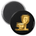 First Holy Communion 2 Inch Round Magnet