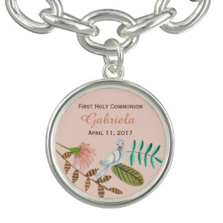First Holy Communion Bird   Bracelet