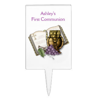 First Holy Communion Cake Picks
