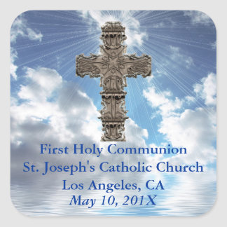 First Holy Communion Church Stickers