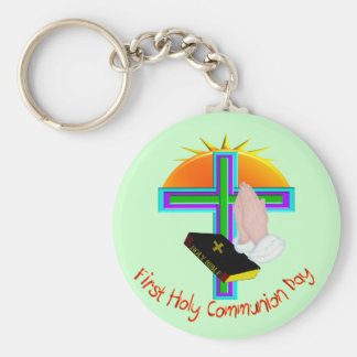 First Holy Communion Day Gifts Keychain