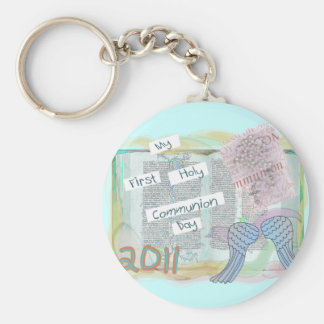 First Holy Communion Day Gifts Kids Key Chain