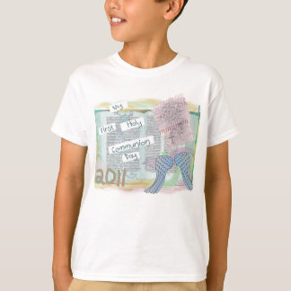 First Holy Communion Day Gifts Kids T-Shirt