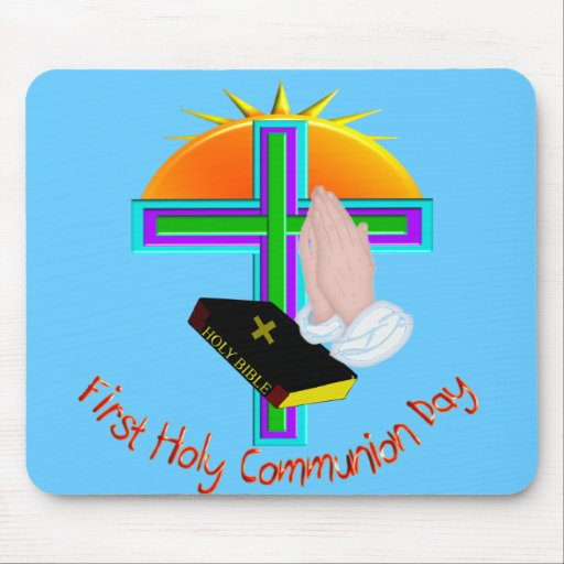 First Holy Communion Day Gifts Mouse Pad