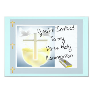 First Holy Communion Day Invitations