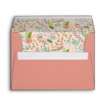 First Holy Communion | Floral Pattern | Envelope