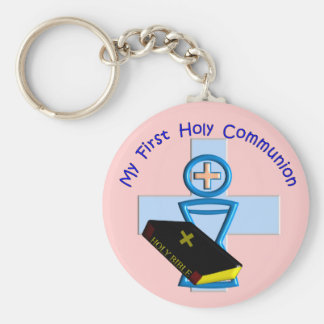 First Holy Communion Gifts for Kids Key Chain