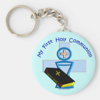First Holy Communion Gifts for Kids Keychain