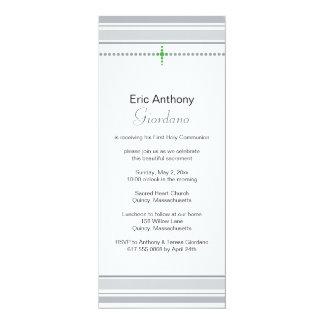 "First Holy Communion Invitation 4"" X 9.25"" Invitation Card"