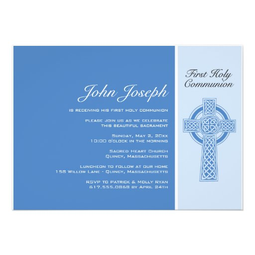 1St Communion Invites with best invitations example