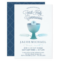First Communion Invitations<