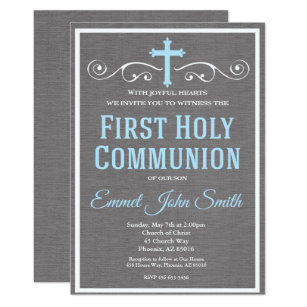 First Holy Communion Invitation, First Communion Invitation