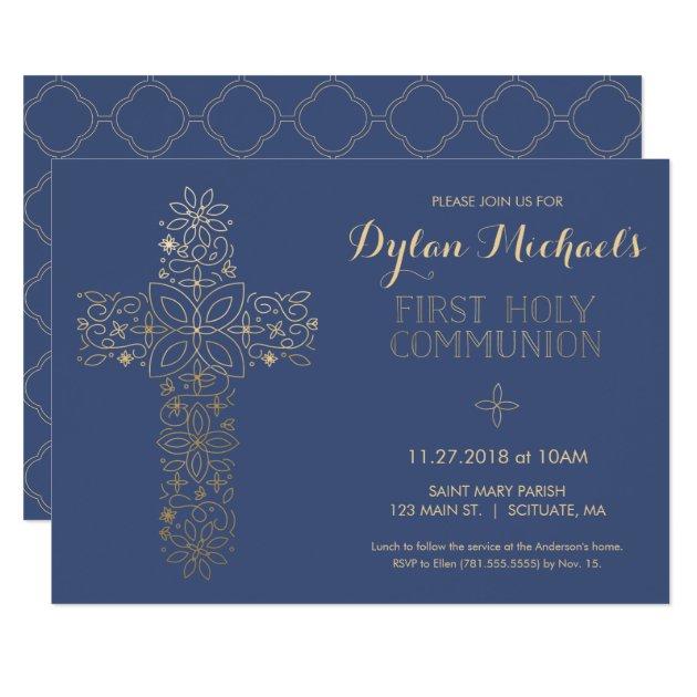 First Holy Communion Invitations - Best Custom Invitation ...
