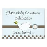 "First Holy Communion Invitations (Girl) 5"" X 7"" Invitation Card"